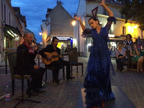Prestation danse flamenco