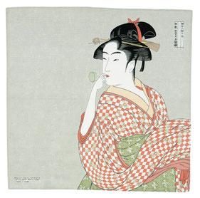 furoshiki ukiyoe utamaro