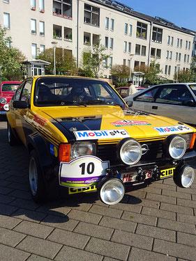 Platz  3    Susanne und Peter Wahlsdorf  mit Ihrem Opel Kadett Gruppe 2 Bj. 1978
