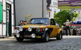 Platz  1    S. und P. Wahlsdorf  mit Ihrem Opel Kadett Gruppe 2 Bj. 1978
