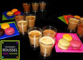 Chocolat Chauds & Macarons