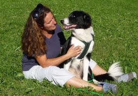 Mensch-Hund-Beziehung, Luzia mit Shahruk