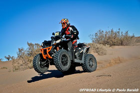 Nicolas Pujol vincitore quad/moto