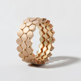 Goldringe, Polygon, Contemporary Jewellery,