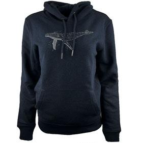 honourebel women' moon jellyfish hoodie