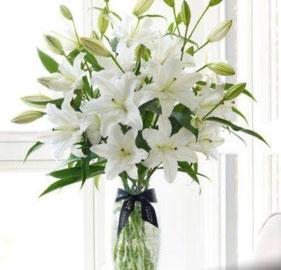 Finas flores fúnebres a domicilio en la CDMX