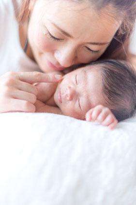 赤ちゃんだけではなくご家族とのお写真も撮影いたします。