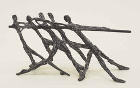 Skulpturen verschiedener Künstler