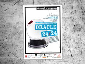 affiche création graphique théâtre design graphique atmosphère