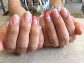 浜松市中区美容院 サロン・ド・グリーン ジェル  春 夏 秋 冬 オフ デザイン