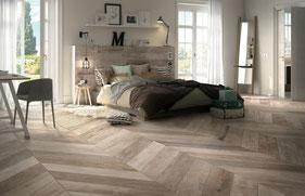 Vloeren en wanden in visgraat patroon de website van house of