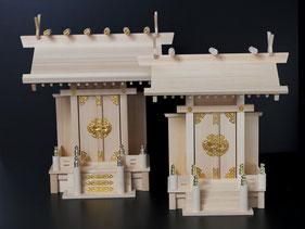 古川神具店の個人のお客様向けの神棚・調度品・神輿のご紹介