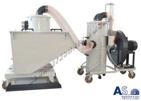 Späneabsaugung Bearbeitungsmaschinen