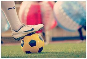 partida de bubble futbol en Cádiz