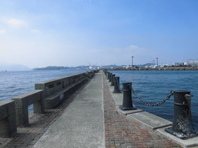 ショアジギングの釣り場 下関市旧市内周辺