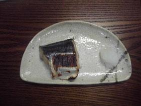完成したサワラの味噌漬け
