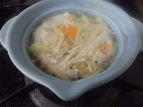 卵スープ 作り方