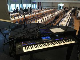 Klavierspieler in Franken