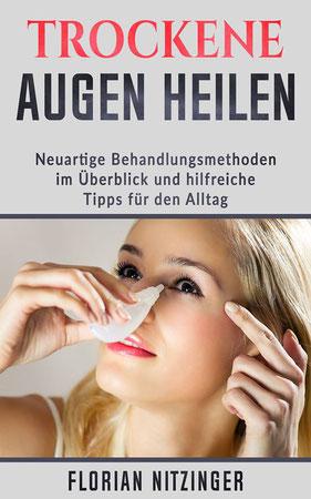Buchcover vom Trockene Augen Buch, Autor Florian Nitzinger