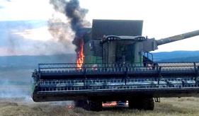 löschanlage für mähdrescher landwirtschaft firetrace
