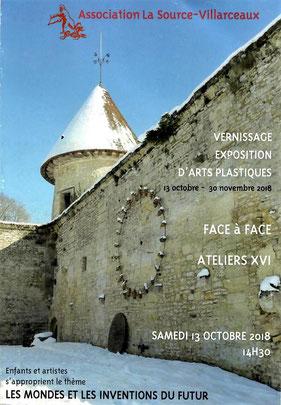 Vernissage le 13 octobre 14h30 Villarceaux