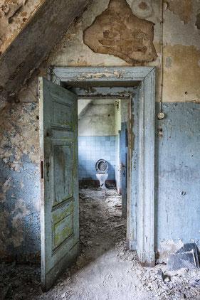 Toilette Beelitz Heilstätten