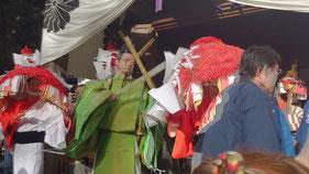 重要無形文化財 田の神祭り この日はカメラマンに徹す!