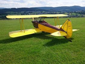 FlyBaby Biplane von Ralf Rückes