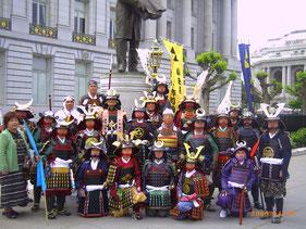 パレード終了後の記念撮影