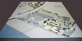 Klärwerk Dresden, Übersichtsmodell, Präsentationsmodell