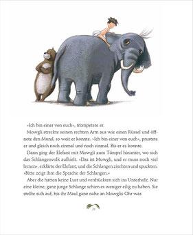 Mowgli lernt das Überleben im Dschungel
