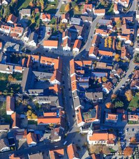 Der Hauptort Nandlstadt, © Klaus Leidorf
