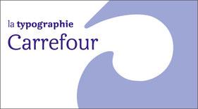 Typographie Carrefour