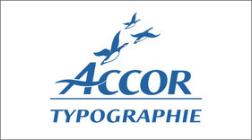 Typographie Accor