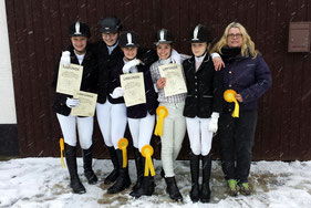 1. Platz in Korbach am 1. Februar 2015 (1. Vergleich)