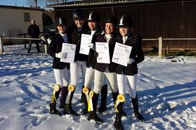 1. Platz in Bad Arolsen am 8. Februar 2015 (2. Vergleich)