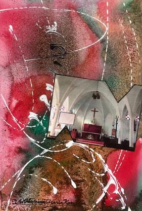 「教会と天国」 F3