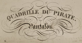 Quadrille du Pirate : Les Pantalons