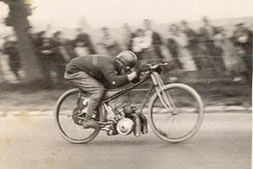 Sourdot  kilomètre lancé Arpajon le 25/08/1929 Monet & Goyon