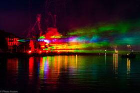 Lichterfest, Bodenwerder, Weserbergland, Weser, Feuerwerk, Lasershow, Weserpromenade