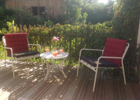 Bed and Breakfast terrace Arcachon