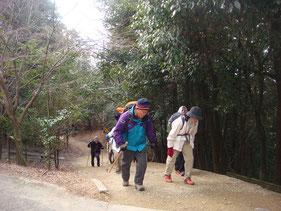 東坂参詣道
