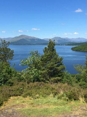 Loch Lomond im Süden der Highlands