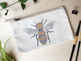 Täschchen Biene Michael Clarke Art