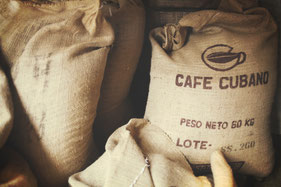 Kaffeebohnen Säcke
