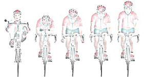 La aerodinámica de la bicicleta