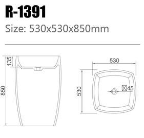Waschtisch R-1391
