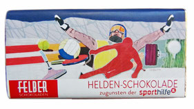 "Schokoladenschleife - ""Helden Schokolade"" , 2018"