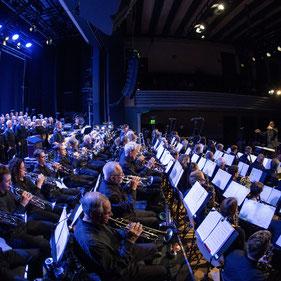 Konzert Blasorchester Baden Wettingen im Volkshaus Zürich