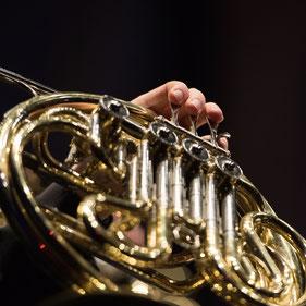 Hornist Blasorchester Baden Wettinen